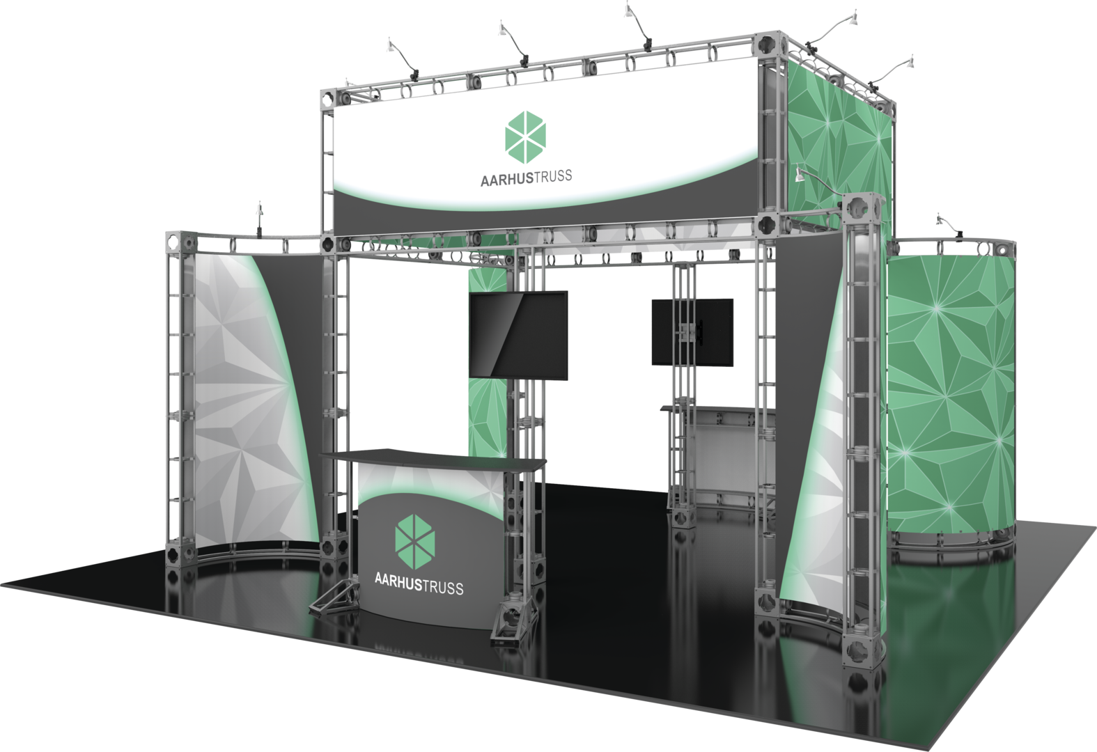 Exhibit logistics aarhus orbital express truss 20 20 for Express modular pricing