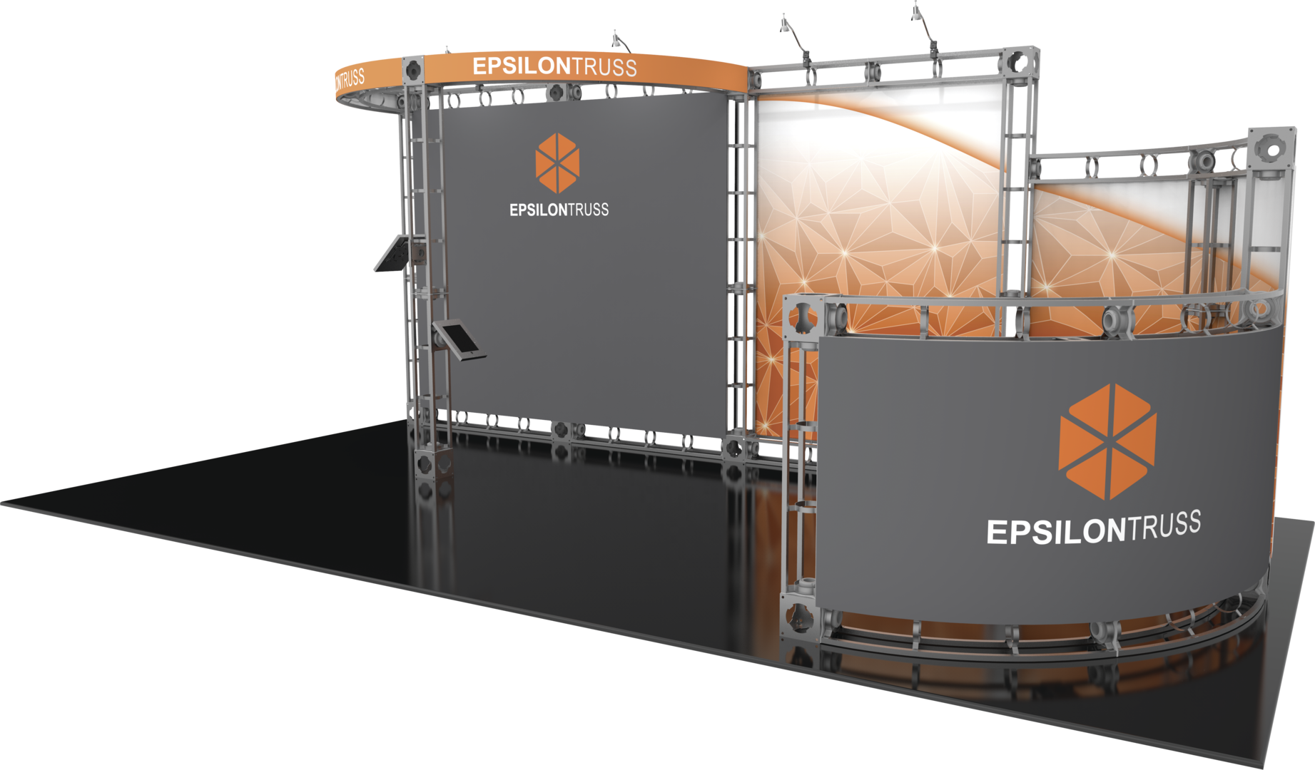 Exhibit logistics epsilon orbital express truss 20ft for Express modular pricing