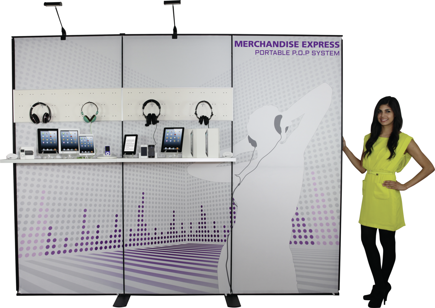 Exhibit logistics merchandise express 10ft modular for Express modular pricing